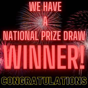 We have a national prize draw winner