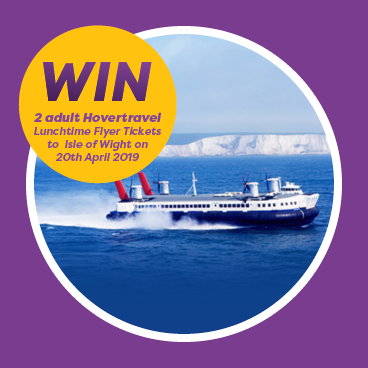 WIN  2 Hovertravel Lunchtime Flyer tickets