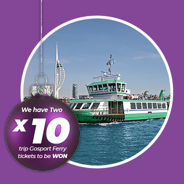 WIN one of two Gosport Ferry Tickets this November